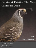 Carving  Painting The California Quail Cover